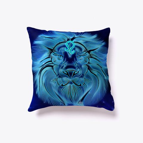 Leo Zodiac Pillow Standard T-Shirt Back
