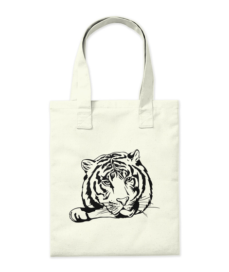 Gorgeous Tiger!  Natural T-Shirt Back