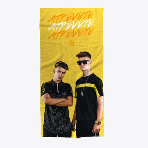 Atrévete  By Adexe Y Nau Yellow Camiseta Front