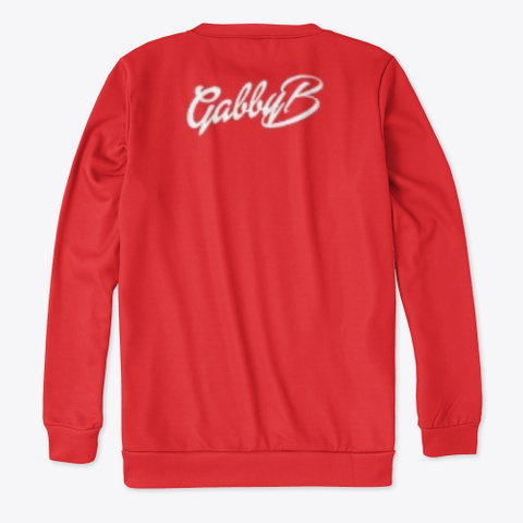 """Christmas Day"" Apparel Red T-Shirt Back"