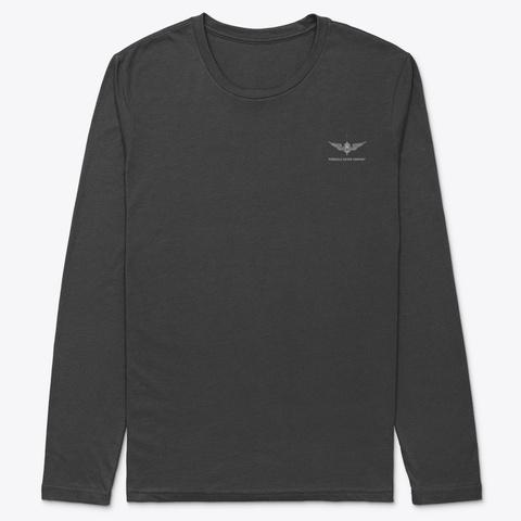 Pdc Long Sleeve Dive Flag Shirt Black T-Shirt Front