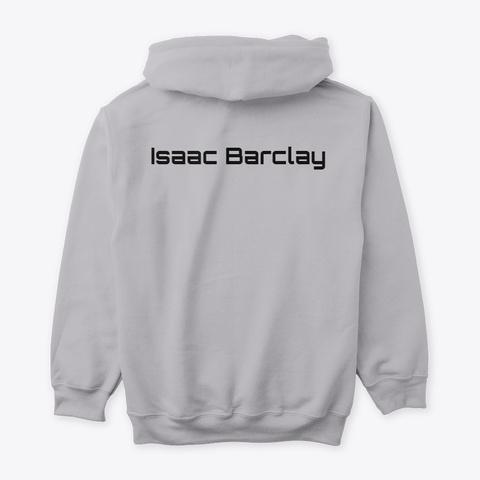 Nwir Isaac Barclay Back Sport Grey T-Shirt Back