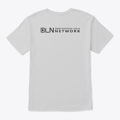 Das Geek T Shirt Light Steel T-Shirt Back