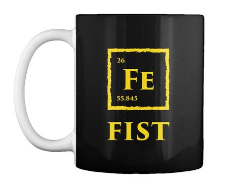 Fist Mug [Usa] #Sfsf Black Mug Front