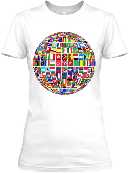 International Day Of Peace White T-Shirt Front