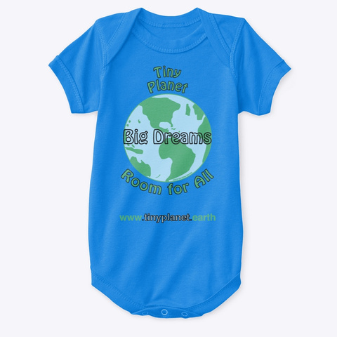 Big Dreams Royal T-Shirt Front