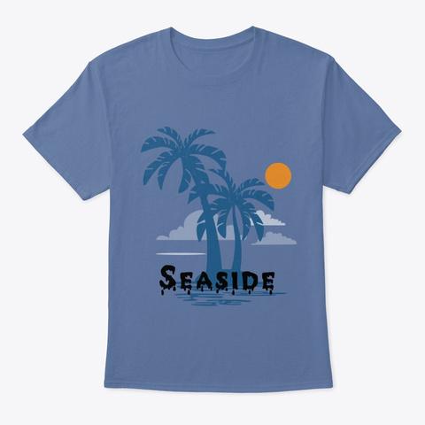 T Shirt  Denim Blue T-Shirt Front