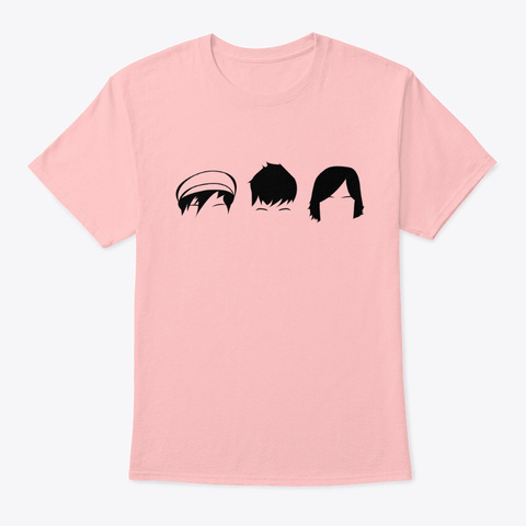 The Big Push T Shirt  Pale Pink T-Shirt Front