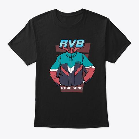 Rvb Tracksuit Style Black T-Shirt Front