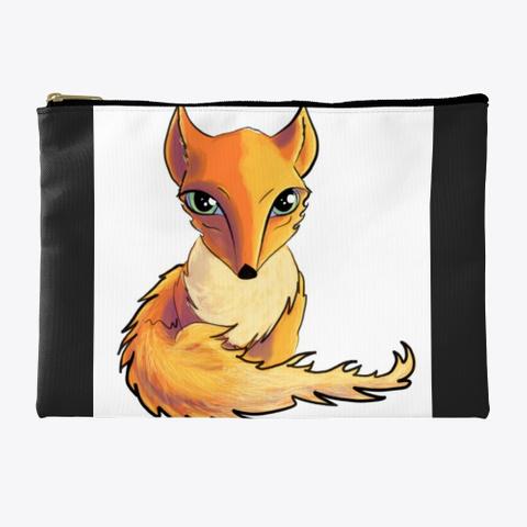 Fox Cutie Black T-Shirt Front