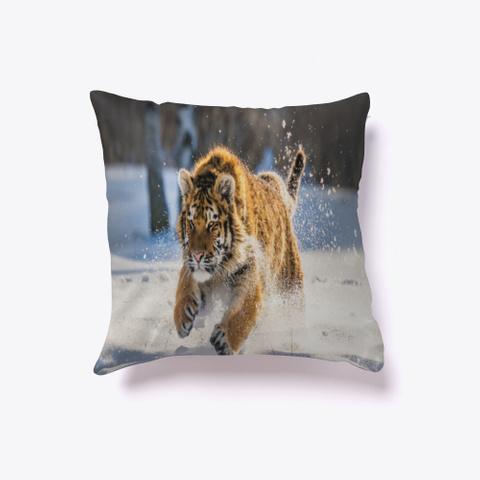Tiger   Pillow   Poster Standard T-Shirt Back