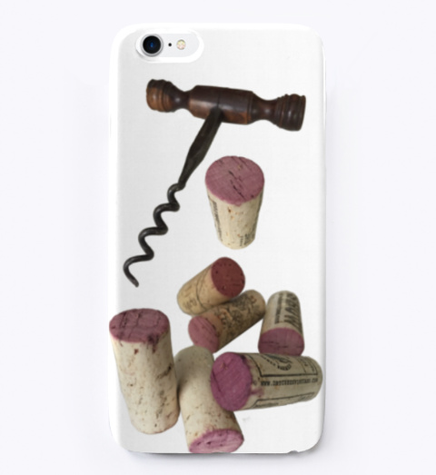 Corkscrew And Corks Phone Cover Standard T-Shirt Front