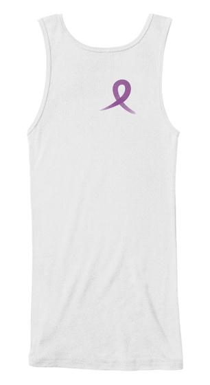 Alzheimer's Disease Awareness White T-Shirt Back