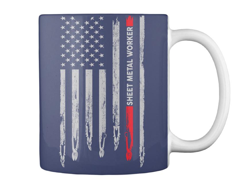 miniature 7 - Casual Proud Sheet Metal Worker - Gift Coffee Mug Gift Coffee Mug