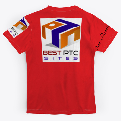 Best  Ptc Sites  Red T-Shirt Back