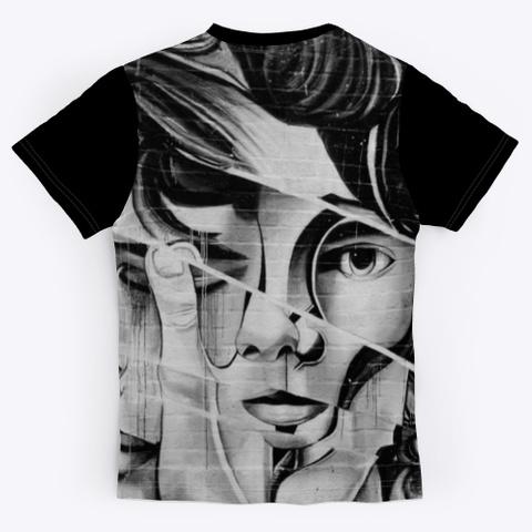 T Shirt: Hidden Eye Black T-Shirt Back