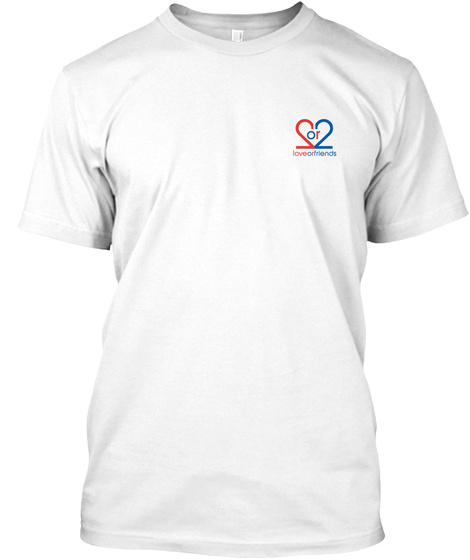 #Robot Friend T Shirt White T-Shirt Front