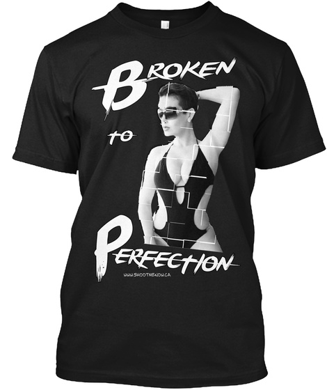 Broken To Perfection Black Maglietta Front