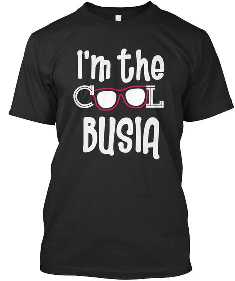 I'm The Cool Busia Black Camiseta Front
