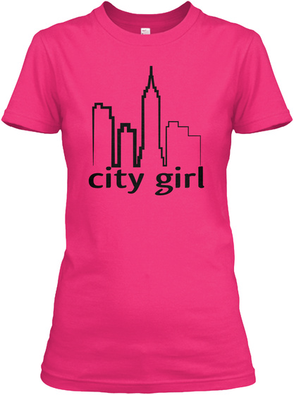 City Girl Heliconia Women's T-Shirt Front