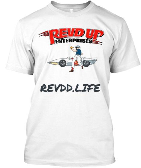 Revdd.Life White T-Shirt Front