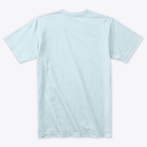 Summit Up! Light Blue T-Shirt Back