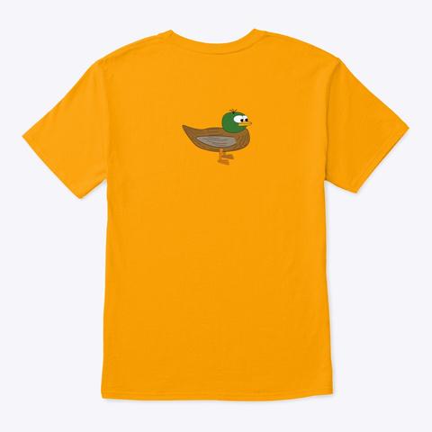 Inglés Series  Shirt Gold T-Shirt Back