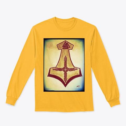 Desert Raven Kindred Drk Original Gold T-Shirt Front