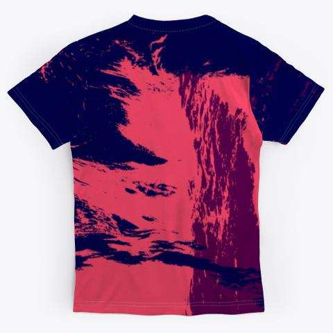Faq Hwew   Fuck You   Batik Tie Dye Art Standard T-Shirt Back