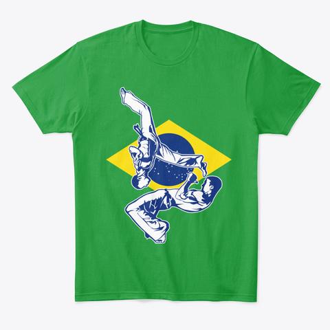 Capoeiristas  Kelly Green T-Shirt Front