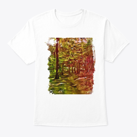 Nature Lover Gift White T-Shirt Front