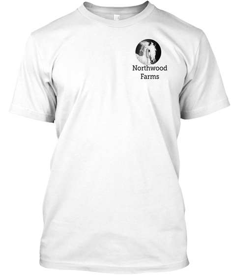 Northwood Farms White T-Shirt Front