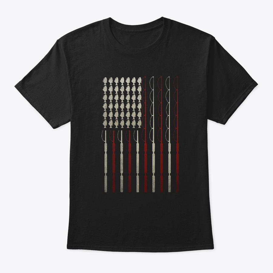 America Flag Usa Lover Fishing Lover Unisex Tshirt