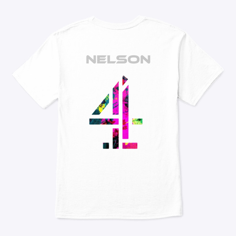 Jay Nel Shop White T-Shirt Back