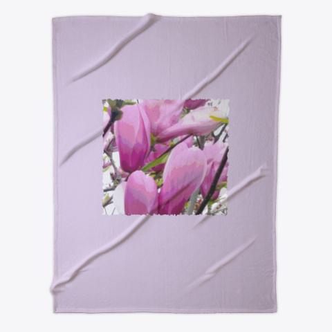 Blossoms Pastel Petals Light Purple  Light Purple T-Shirt Front