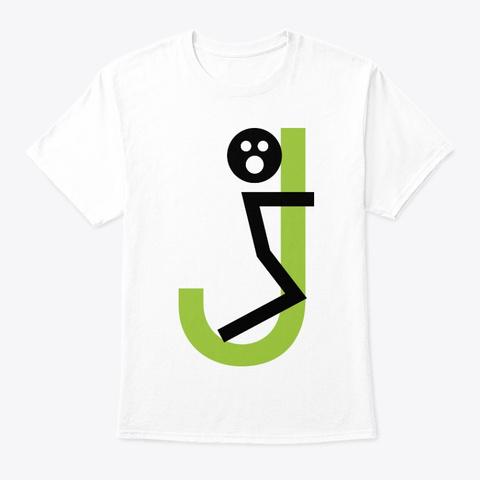 Fj White T-Shirt Front