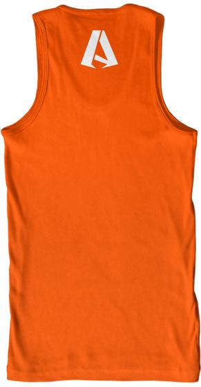 A Orange T-Shirt Back