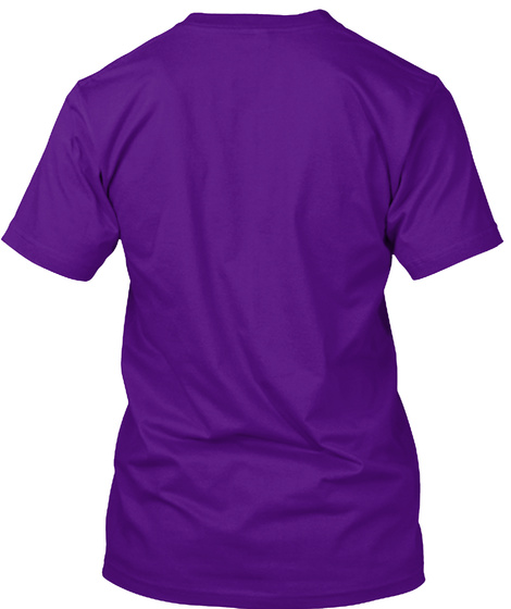 Sexy Male Tee Team Purple T-Shirt Back