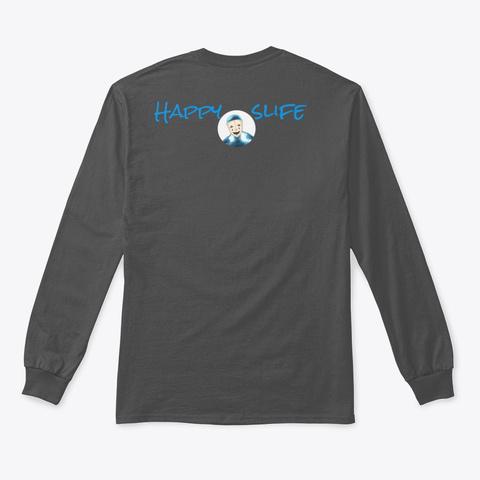 Holiday Slife Charcoal T-Shirt Back