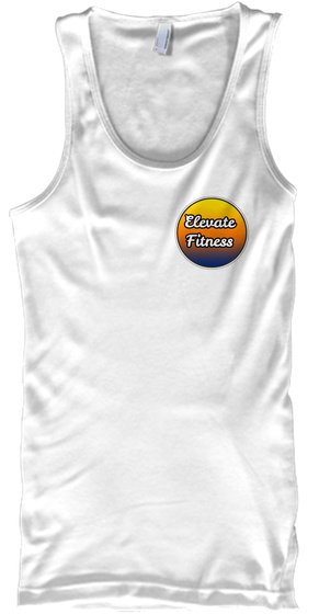 Mad Over Shirts Witness The Fitness Unisex Premium Tank top