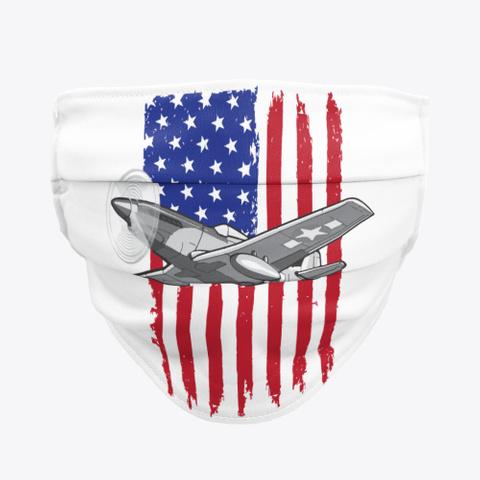 P 51 Mask Standard T-Shirt Front