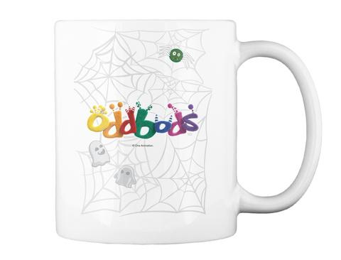 Oddbods Tm One Animation White Mug Back