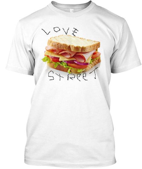 Love Street White T-Shirt Front
