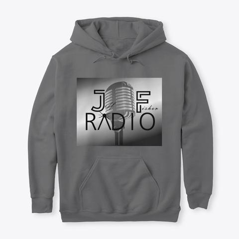 Jeff Fisher Radio  Dark Heather T-Shirt Front