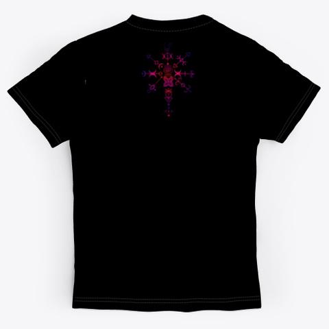 Together We Grow Black T-Shirt Back