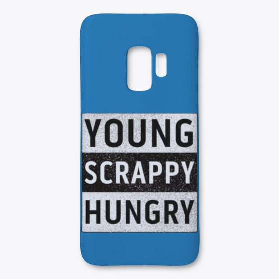 Young Scrappy And Hungry iphone case