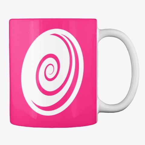 Higgypop Mug Pink Hot Pink T-Shirt Back