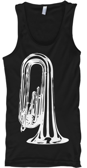 Marching Contra Tank Top Black T-Shirt Front