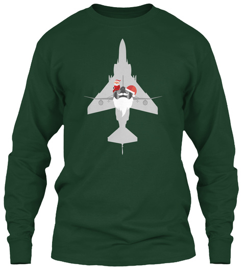 Christmas Phantom Forest Green T-Shirt Front