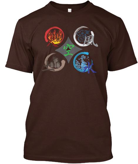 O/I Dark Chocolate T-Shirt Front